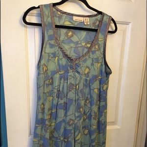 DKNY jeans Sundress multi color size xl